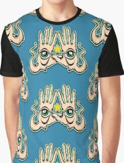 Eye/ Hand Graphic T-Shirt