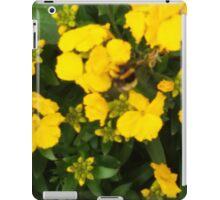 Bumble Bee In Yellow Flowers iPad Case/Skin