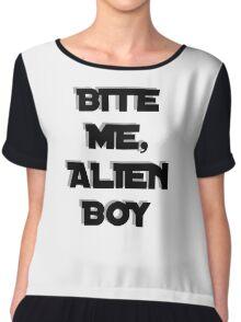 Bite me, Alien Boy Chiffon Top