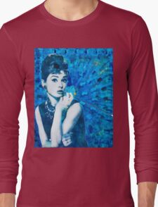 Bl'Audrey Hepburn Long Sleeve T-Shirt