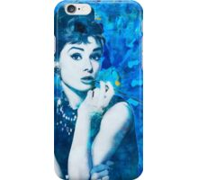 Bl'Audrey Hepburn iPhone Case/Skin