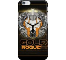 Star Wars GOLD 2 Rogue Warrior - Deluxe iPhone Case/Skin