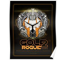 Star Wars GOLD 2 Rogue Warrior - Deluxe Poster