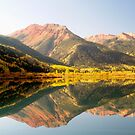 Crystal Lake and Red Mountain, Colorado by Alex Cassels