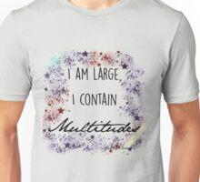 """Song of Myself"" by Walt Whitman Print Unisex T-Shirt"