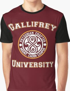 Gallifrey University Graphic T-Shirt
