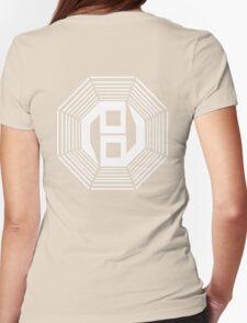 Danganronpa- yin yang symbol Womens Fitted T-Shirt