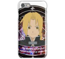 Edward Elric iPhone Case/Skin