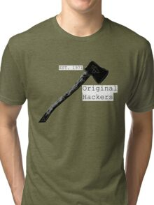 Original Hackers Tri-blend T-Shirt
