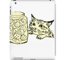 Staring at Cookies iPad Case/Skin