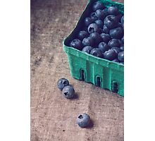 Summer Blueberries no. 2 Photographic Print