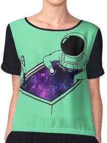 spaceman Chiffon Top