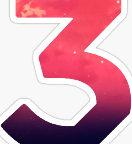 Chance 3 Logo Sticker