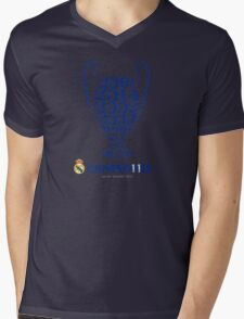 Real Madrid  Mens V-Neck T-Shirt