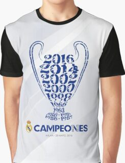 Real Madrid  Graphic T-Shirt