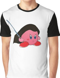 Kirby Jedi Graphic T-Shirt
