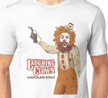 Laughing Clown Chocolate Stout Unisex T-Shirt