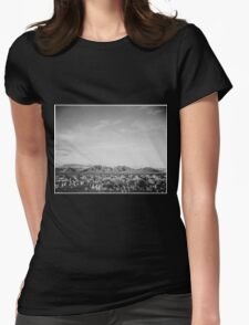 Ansel Adams - Death Valley Womens Fitted T-Shirt