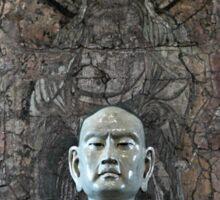 EJK - Monk Statue Sticker