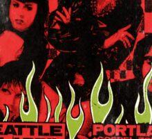 The Cramps (Seattle & Portland shows) Vintage 2 Sticker