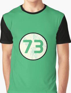 Sheldon Cooper - Distressed Vanilla Cream Circle 73 Transparent Variant Graphic T-Shirt