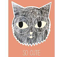 So Cute Kitten Photographic Print
