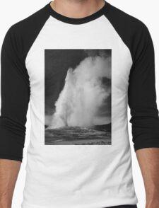 Ansel Adams - Old Faithful Men's Baseball ¾ T-Shirt