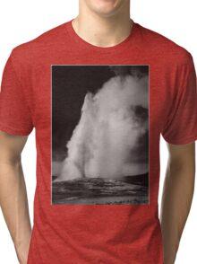 Ansel Adams - Old Faithful Tri-blend T-Shirt