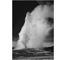 Ansel Adams - Old Faithful Photographic Print