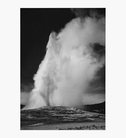 Ansel Adams - Old Faithful Photographic Print