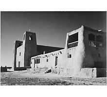 Ansel Adams - Acoma Pueblo Photographic Print