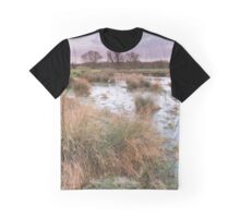 Meadow Sunrise Graphic T-Shirt