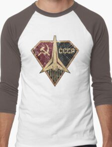 CCCP Rocket Hero Men's Baseball ¾ T-Shirt