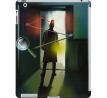 The Inspector is in. iPad Case/Skin