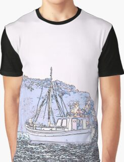 Sailing on the sea Graphic T-Shirt