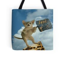 marshmallow cat Tote Bag