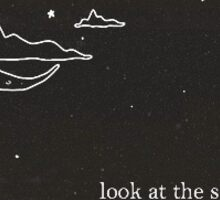 Look At The Stars... Sticker