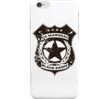 Wynonna Earp- Black Badge Devision iPhone Case/Skin