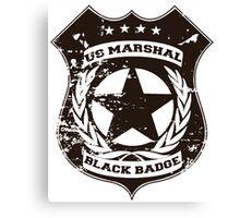 Wynonna Earp- Black Badge Division Canvas Print