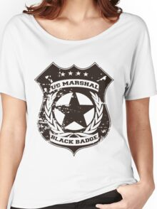 Wynonna Earp- Black Badge Division Women's Relaxed Fit T-Shirt