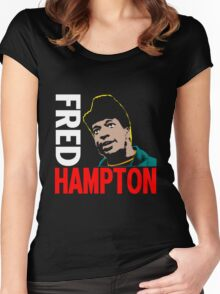FRED HAMPTON Women's Fitted Scoop T-Shirt