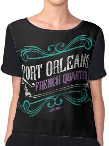 Port Orleans French Quarter Chiffon Top