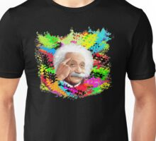 Albert Einstein Colour Full Unisex T-Shirt