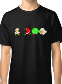 BurgerTime Retro Chase Graphic Classic T-Shirt