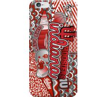 Indiana Collage iPhone Case/Skin
