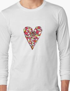 Graphic Heart Long Sleeve T-Shirt