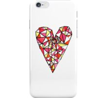 Graphic Heart iPhone Case/Skin