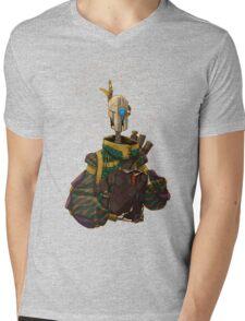 The Scholar Mens V-Neck T-Shirt