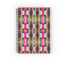 Patterned Body Paint Collection Entwined Entities Spiral Notebook