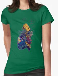 guardian of songbirds Womens Fitted T-Shirt